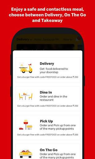 McDelivery- McDonaldu2019s India: Food Delivery App 10.51 Screenshots 3