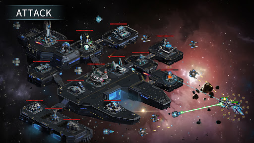 Clash of Stars: Space Strategy Game 6.1.0 screenshots 4