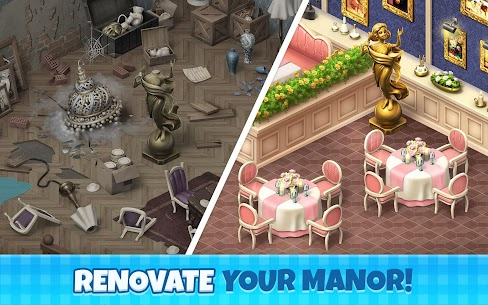Manor Cafe (MOD, Unlimited Money) 3