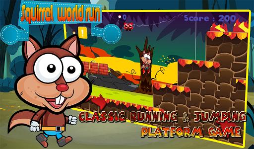 squirrel  world run screenshot 1