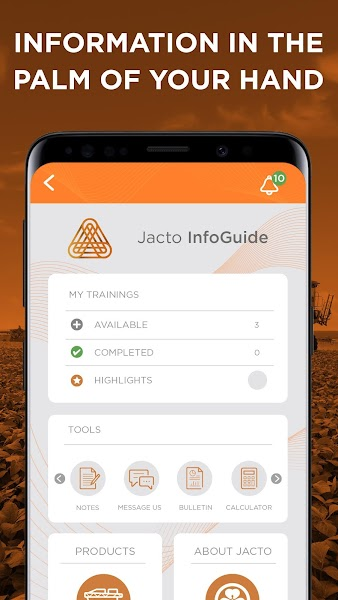 Jacto InfoGuide