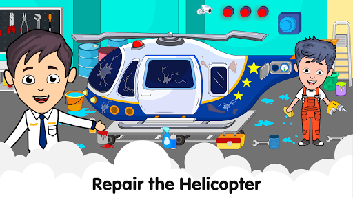 My Airport Town: Kids City Airplane Games for Free 1.6.1 Screenshots 5