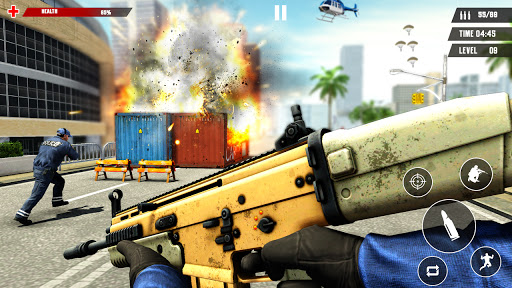 US Police Free Fire - Free Action Game modavailable screenshots 12