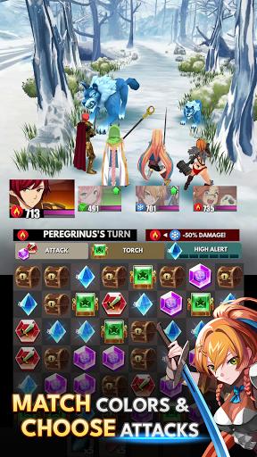 Starsteel Fantasy - Puzzle Combat  screenshots 7
