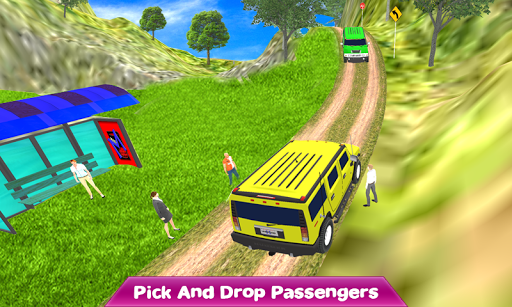 Crazy Taxi Jeep Drive: Jeep Driving Games 2021 android2mod screenshots 7