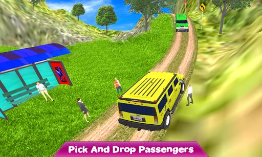 Crazy Taxi Jeep Drive: Jeep Driving Games 2020 apkslow screenshots 7