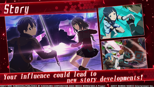 Code Triche Sword Art Online: Integral Factor (Astuce) APK MOD screenshots 3