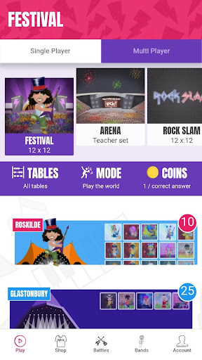 Times Tables Rock Stars apkpoly screenshots 2
