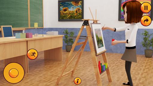 High School Girl Simulator u2013 Virtual School Life apktram screenshots 8