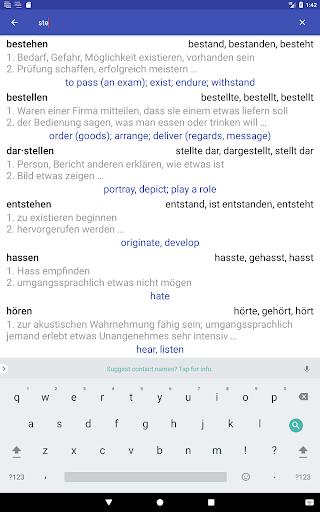 Deutsche Verben screenshots 24