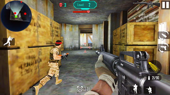 Gun Shoot War v 8.2 Мод (Unlimited gold coins) 4