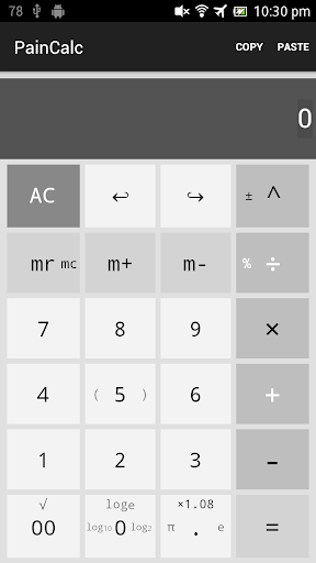 PainCalc - Simple calculator For PC Windows (7, 8, 10, 10X) & Mac Computer Image Number- 5