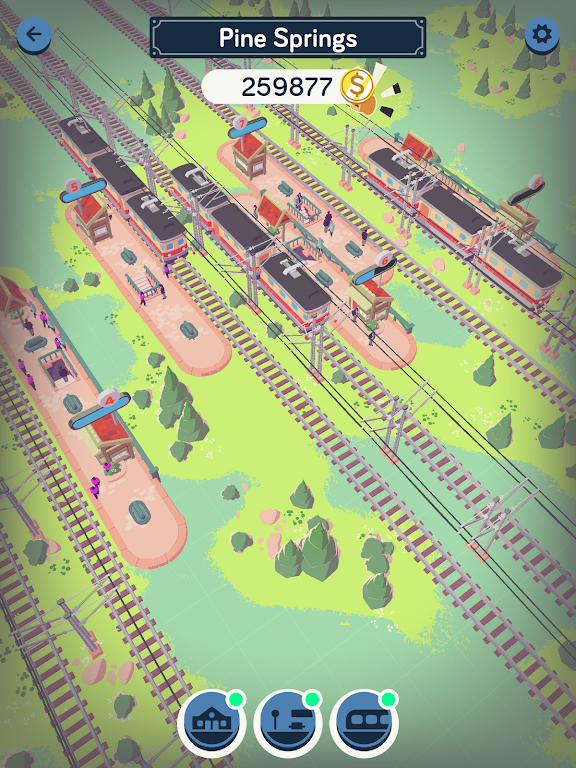 Train Station Idle Tycoon  poster 12