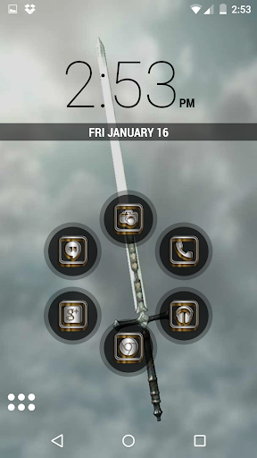 SilverGold 3D Icon CM&Launcher For PC Windows (7, 8, 10, 10X) & Mac Computer Image Number- 8
