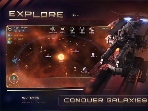Nova Empire: Space Commander Battles in Galaxy War 2.1.8 Screenshots 9