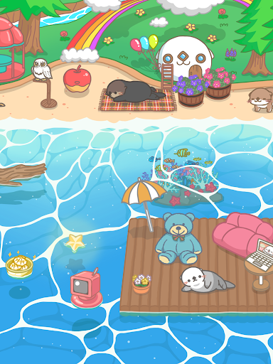 Rakko Ukabe - Let's call cute sea otters! 1.2.15 screenshots 10