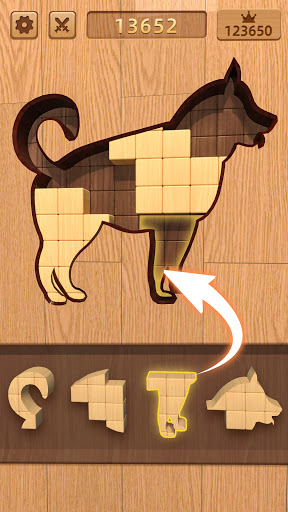 BlockPuz: Jigsaw Puzzles &Wood Block Puzzle Game  screenshots 14