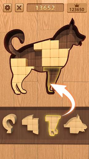 BlockPuz: Jigsaw Puzzles &Wood Block Puzzle Game apktram screenshots 14