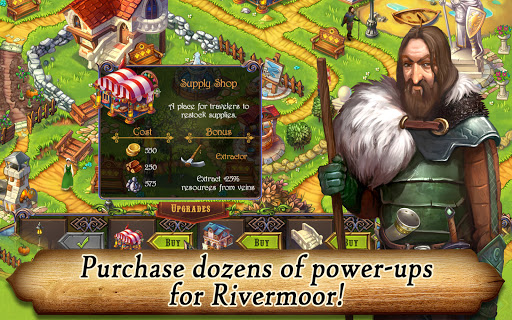 Runefall - Medieval Match 3 Adventure Quest screenshots 5