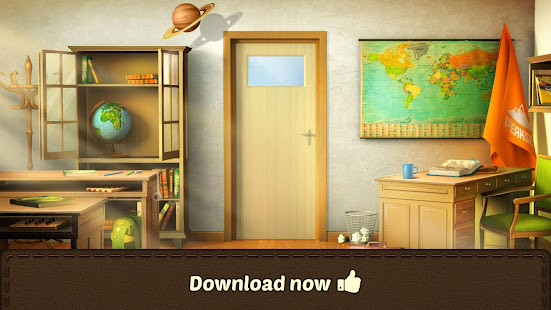 100 Doors Games 2021: Escape from School 3.7.8 Screenshots 5