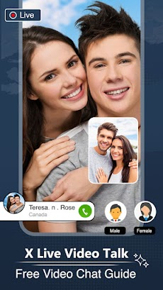 XLive Video Talk Chat - Free Video Chat Guideのおすすめ画像4