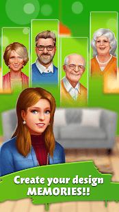Home Memory: Word Cross & Dream Home Design Game