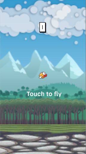 Flying Bird - Flapper Birdie Game  screenshots 5