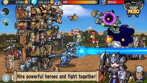 Top Hero - Tower Defense  screenshots 1