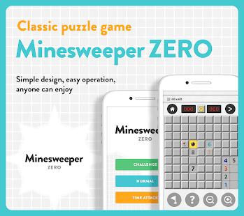 Minesweeper Free Classic Puzzle – Minesweeper ZERO 1.6.0 screenshots 1
