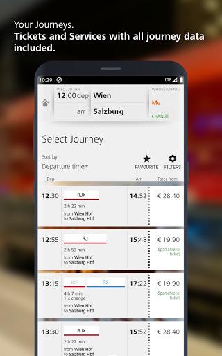 u00d6BB u2013 Train Tickets & More apktram screenshots 5