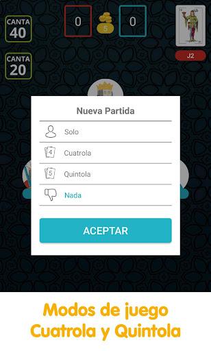 Cuatrola Spanish Solitaire - Cards Game  screenshots 6