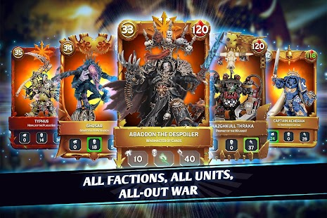 Warhammer Combat Cards - 40K Edition Screenshot