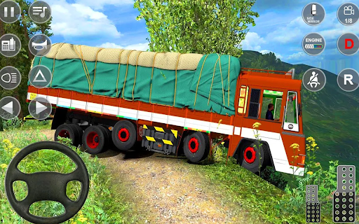 Euro Truck Driver 3D: Top Driving Game 2020 screenshots 9