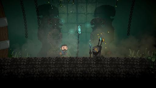 dark around you - pixel 2d platformer screenshot 1