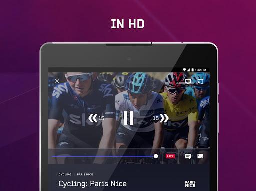 Eurosport Player - Live Sport Streaming App modavailable screenshots 9