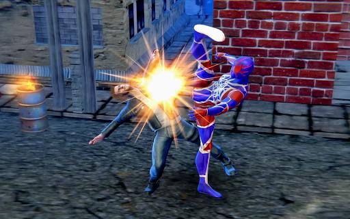 Superhero Rope Iron Ninja Battle Spider Amazing Screenshot 1