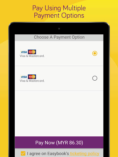 Easybook - Bus, Train, Ferry, Flight & Car Rental  Screenshots 10