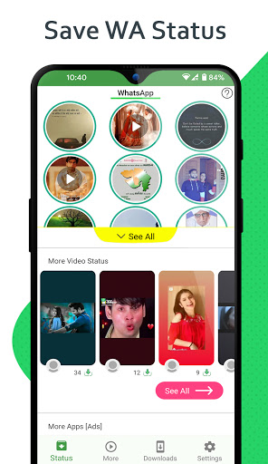 Status Saver - Download for Whatsapp android2mod screenshots 1