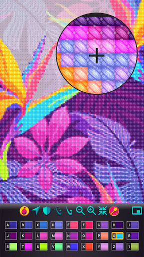 Cross Stitch Gold: Color By Number, Sewing pattern  screenshots 3