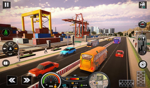 Euro Bus Driver Simulator 3D: City Coach Bus Games 2.1 Screenshots 13