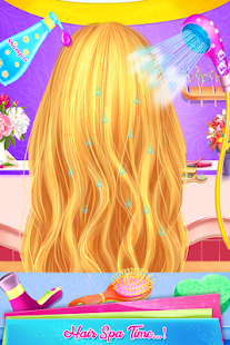 School Girls Hairdo braid hair Style Makeup Artist