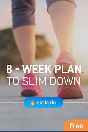 Walking for weight loss app  screenshots 1