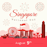 Singapore National Day Greeting Cards app apk icon