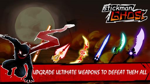 Stickman Ghost: Ninja Warrior  screenshots 1