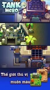Xe tăng – Cuộc chiến bắt đầu Ver 1.7.6 MOD APK   God Mode – Tank Hero – Fun and addicting game 3