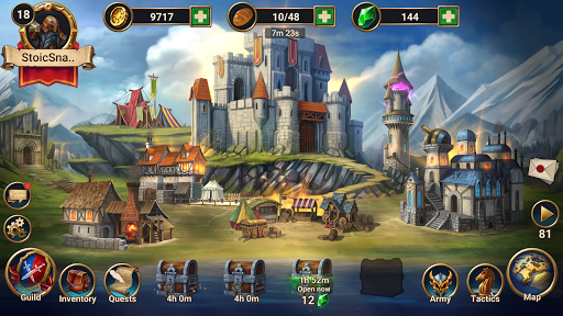 Chaos Lords: Stronghold Kingdom - Medieval RPG War screenshots 9