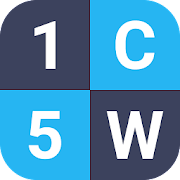 1 Clue 5 Words - Word Game