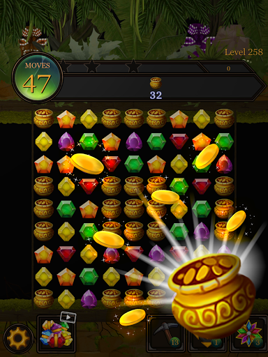 Secret Jungle Pop : Match 3 Jewels Puzzle Apkfinish screenshots 21