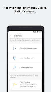 dr.fone - Recovery & Transfer wirelessly & Backup Screenshot