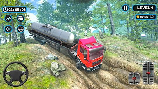Oil Tanker Truck Driving Simulation Games 2020 3